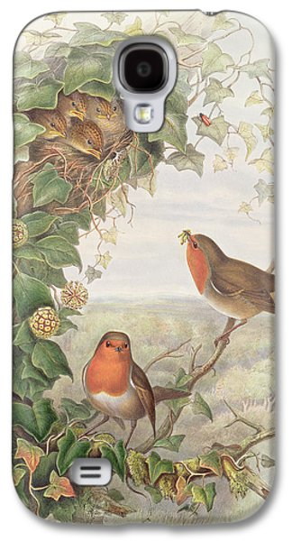 Robin Galaxy S4 Case by John Gould