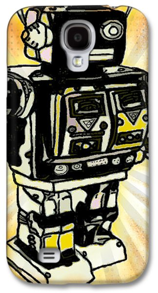 Mechanism Galaxy S4 Cases - Robot Emerges Galaxy S4 Case by John Rizzo