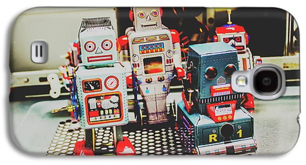 Robots Of Retro Cool Galaxy S4 Case by Jorgo Photography - Wall Art Gallery