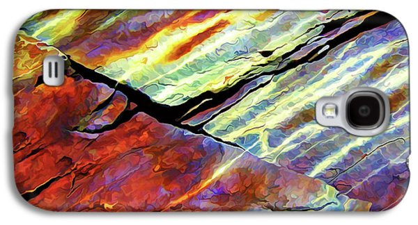 Digitally Manipulated Galaxy S4 Cases - Rock Art 16 Natural Color Galaxy S4 Case by Bill Caldwell -        ABeautifulSky Photography