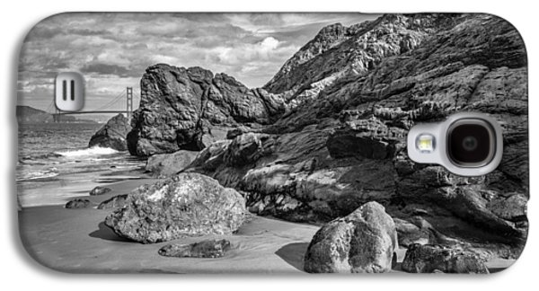 Rocky China Beach San Francisco Galaxy S4 Case by Judith Barath