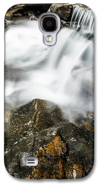 Splashy Photographs Galaxy S4 Cases - Rocky Collision Galaxy S4 Case by Shelby  Young