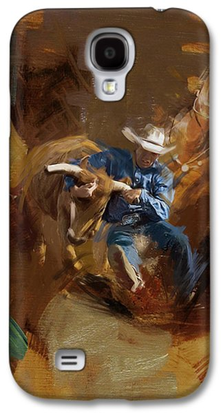 Rodeo 17 Galaxy S4 Case by Maryam Mughal