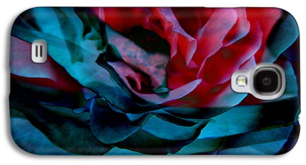 Print On Canvas Galaxy S4 Cases - Romance - Abstract Art Galaxy S4 Case by Jaison Cianelli