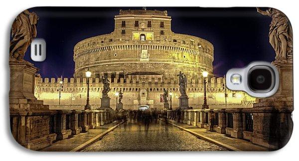 Night Angel Galaxy S4 Cases - Rome castel sant angelo Galaxy S4 Case by Joana Kruse
