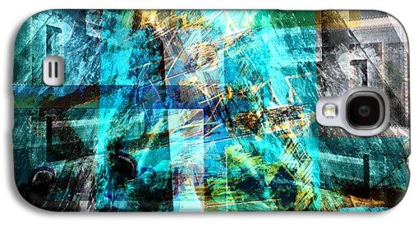 Abstract Digital Art Galaxy S4 Cases - Rondo Capriccioso Galaxy S4 Case by Art Di