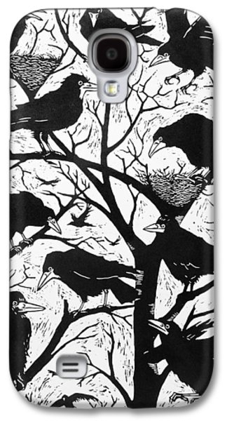 Recently Sold -  - Creepy Galaxy S4 Cases - Rooks Galaxy S4 Case by Nat Morley