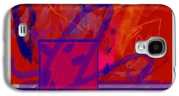 Abstract Movement Galaxy S4 Cases - Root Chakra Meditation Galaxy S4 Case by Janis Kirstein