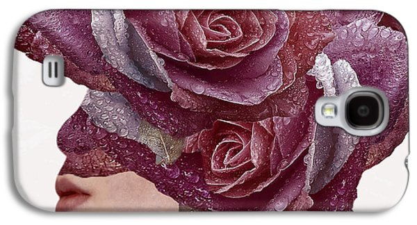 Girl Galaxy S4 Cases - Rose Galaxy S4 Case by Bojan Jevtic