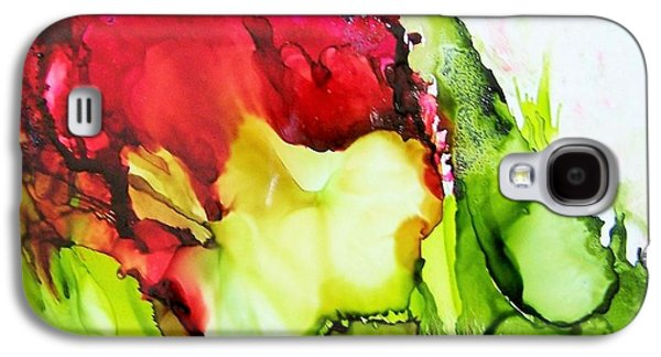 Abstract Ceramics Galaxy S4 Cases - Rose Galaxy S4 Case by Sherri Patterson