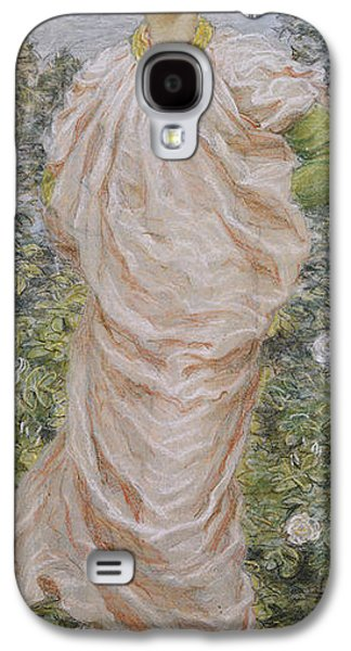 Flooring Galaxy S4 Cases - Roses Galaxy S4 Case by Albert Joseph Moore