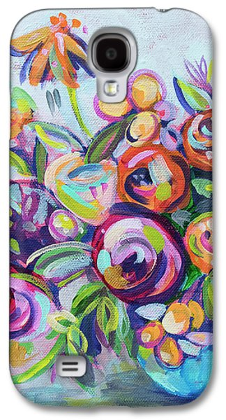 Roses And Kumquats Galaxy S4 Case by Kristin Whitney