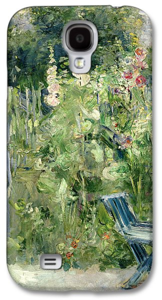 Bed Galaxy S4 Cases - Roses Tremieres Galaxy S4 Case by Berthe Morisot