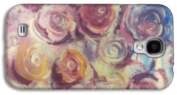 Etc. Paintings Galaxy S4 Cases - Rosie Galaxy S4 Case by Jennifer Henson