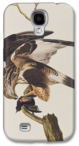 Rough Legged Falcon Galaxy S4 Case by John James Audubon