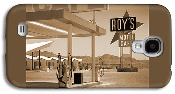 Route 66 - Roy's Motel  Galaxy S4 Case by Mike McGlothlen