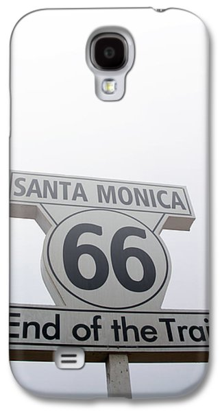 Route 66 Santa Monica- By Linda Woods Galaxy S4 Case by Linda Woods