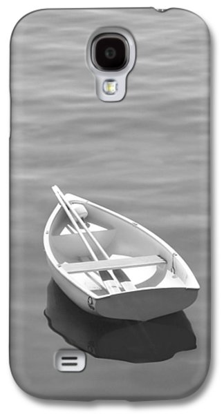 Water Scene Galaxy S4 Cases - Row Boat Galaxy S4 Case by Mike McGlothlen