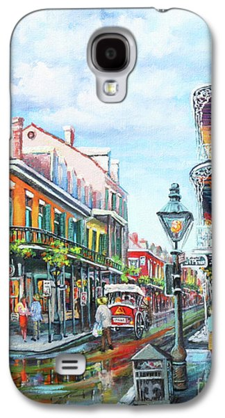 Peter Paintings Galaxy S4 Cases - Royal Balconies Galaxy S4 Case by Dianne Parks