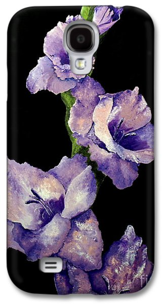 Royal Gladiolas  Galaxy S4 Case by Jeff Maurer