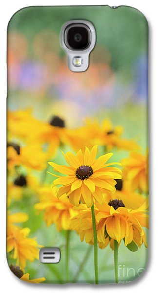 Rudbeckia Indian Summer Flowers Galaxy S4 Case by Tim Gainey