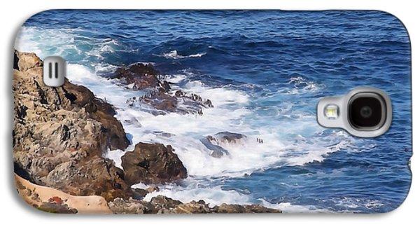 Big Sur Ca Galaxy S4 Cases - Rugged Big Sur Galaxy S4 Case by Art Block Collections