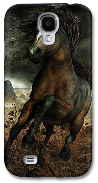 Horse Digital Galaxy S4 Cases - Run Like the Wind Galaxy S4 Case by Shanina Conway