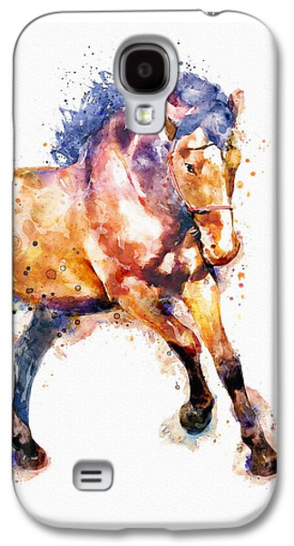 Running Horse Galaxy S4 Case by Marian Voicu