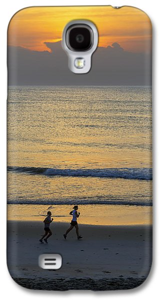 Beach Landscape Galaxy S4 Cases - Running Through My Mind Galaxy S4 Case by Brian Wallace