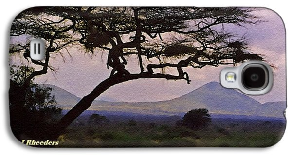Abstract Digital Pastels Galaxy S4 Cases - Rural Landscape Scene - South Africa H A Galaxy S4 Case by Gert J Rheeders