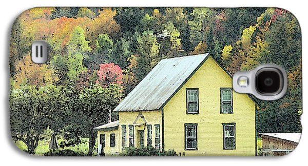 Old House Photographs Galaxy S4 Cases - Rural New England Galaxy S4 Case by Betty LaRue
