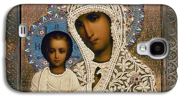Russian Icon Galaxy S4 Cases - Russian Icon: Mary Galaxy S4 Case by Granger