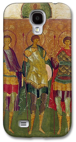 Russian Icon Galaxy S4 Cases - Russian Icon: Saints Galaxy S4 Case by Granger