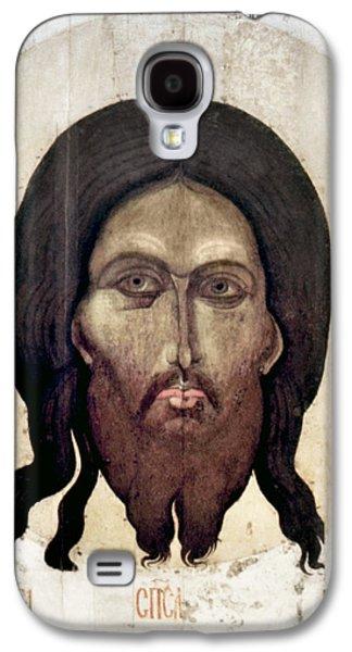 Russian Icon Galaxy S4 Cases - Russian Icon: The Savior Galaxy S4 Case by Granger
