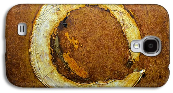Modern Abstract Reliefs Galaxy S4 Cases - Rust Art #1 Galaxy S4 Case by Michael Kuelbel
