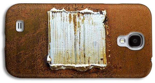 Modern Abstract Reliefs Galaxy S4 Cases - Rust Art #6 Galaxy S4 Case by Michael Kuelbel