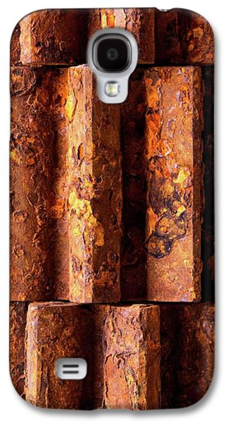 Rusted Gears 2 Galaxy S4 Case by Jim Hughes