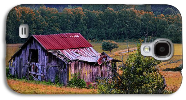 Farmscape Galaxy S4 Cases - Rustic Barn - Wears Valley Tennessee Galaxy S4 Case by Thomas Schoeller