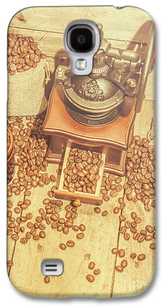 Rustic Country Coffee House Still Galaxy S4 Case by Jorgo Photography - Wall Art Gallery