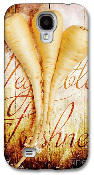 Rustic Farm Kitchen Tin Sign Galaxy S4 Case by Jorgo Photography - Wall Art Gallery