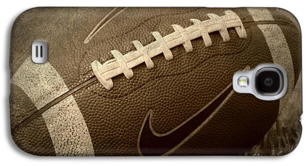 Rustic Football Galaxy S4 Case by Amy Steeples