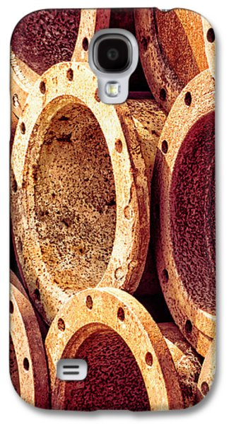 Abstracts Galaxy S4 Cases - Rusty Galaxy S4 Case by Wim Lanclus