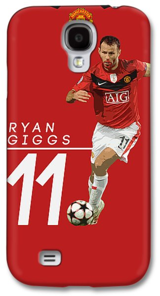 Ryan Giggs Galaxy S4 Case by Semih Yurdabak
