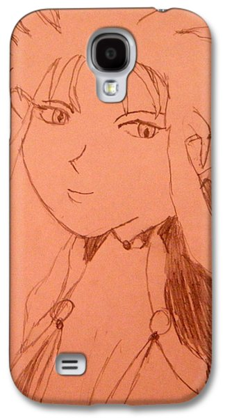 Animation Drawings Galaxy S4 Cases - Ryoko Galaxy S4 Case by April Patterson