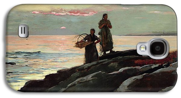 Saco Bay Galaxy S4 Case by Winslow Homer