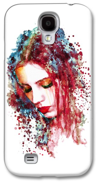 Sad Woman Galaxy S4 Case by Marian Voicu