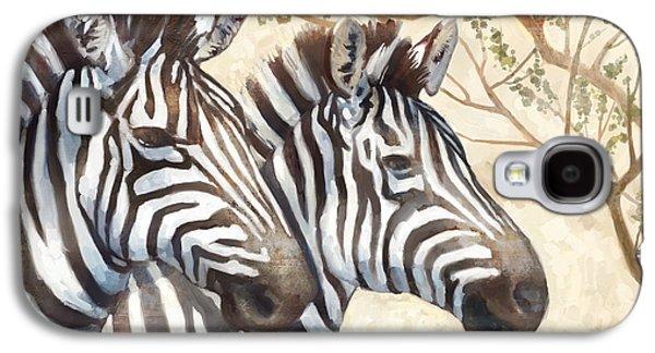 Safari Sunrise Galaxy S4 Case by Mauro DeVereaux