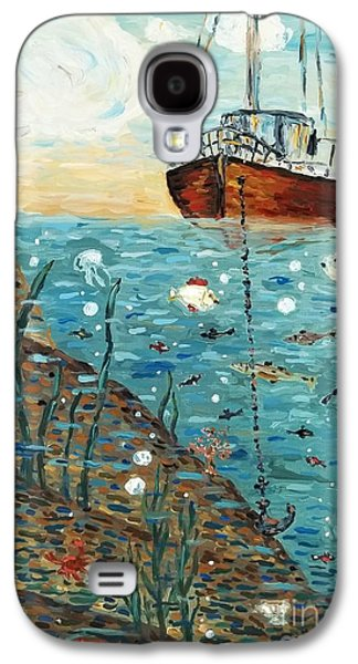 Business Galaxy S4 Cases - Safe Harbor Galaxy S4 Case by Maria Langgle