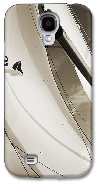 Sailboats Galaxy S4 Cases - Sailboat Sails and Spinnaker Fate Beneteau 49 Charelston SC Galaxy S4 Case by Dustin K Ryan