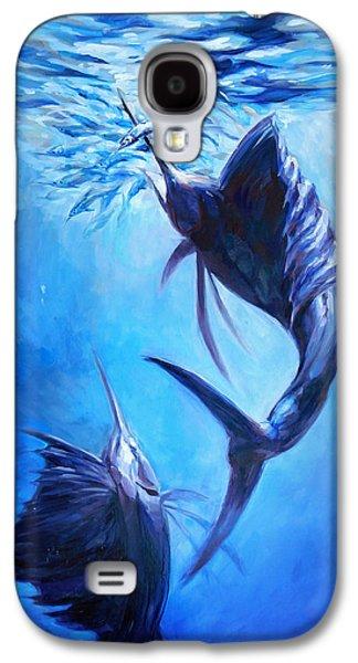 Sailfish And Ballyhoo Galaxy S4 Case by Tom Dauria